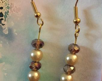 Sparkling Amethyst Earrings