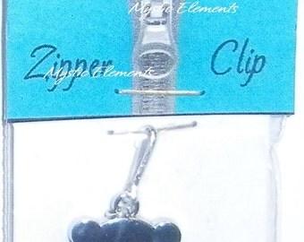 Life's a Charm Zipper Clip ~ Teddy