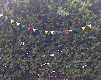 Mini pennant flags