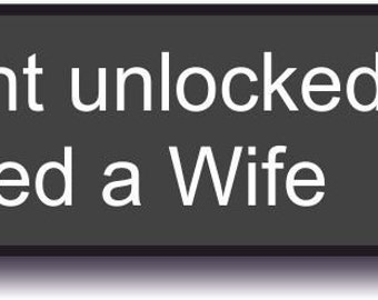 Obtained a Wife xBox Achievement Ready Made, Reusable Photo Booth Sign 013-458 Gamer Wedding Gift