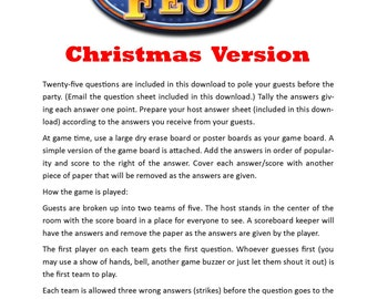 new year's themed family feud printable game new, Powerpoint templates