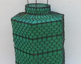 Medium Size Hand Made Green Lantern
