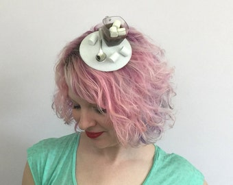 RTS Hot Chocolate with Marshmallows Fascinator, Hot Cocoa fascinator