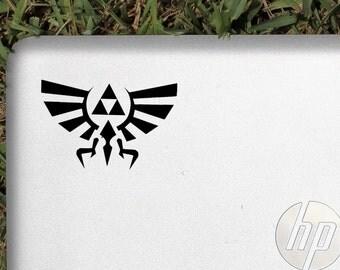 Legend of Zelda Hyrule crest decal sticker