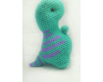 T-Rex Plush Toy, Teal T-Rex Doll, Amigurumi T-Rex, Handmade Toy, Crochet T-Rex, Dinosaur Toy, Dino Plush Toy, Dinosaur Stuffed Animal