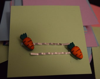 Carrot Hair Bobby Pins