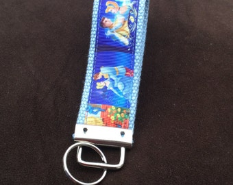 Cinderella key chain- Cinderella key fob- Cinderella key ring