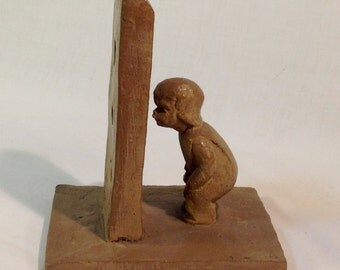 M. Strubel for Haeger Pottery Sculpture