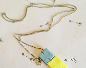 Necklace Flag