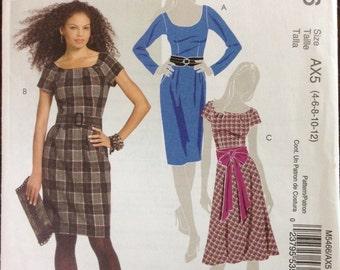 McCalls M5466 - Dress in Three Styles - Size 4 - 12