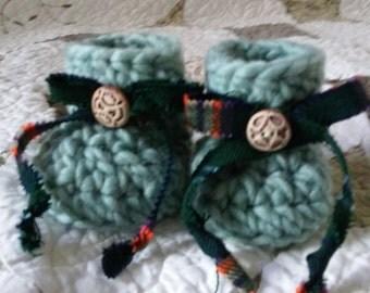 Clan Young Tartan Booties or Tartan of choice.