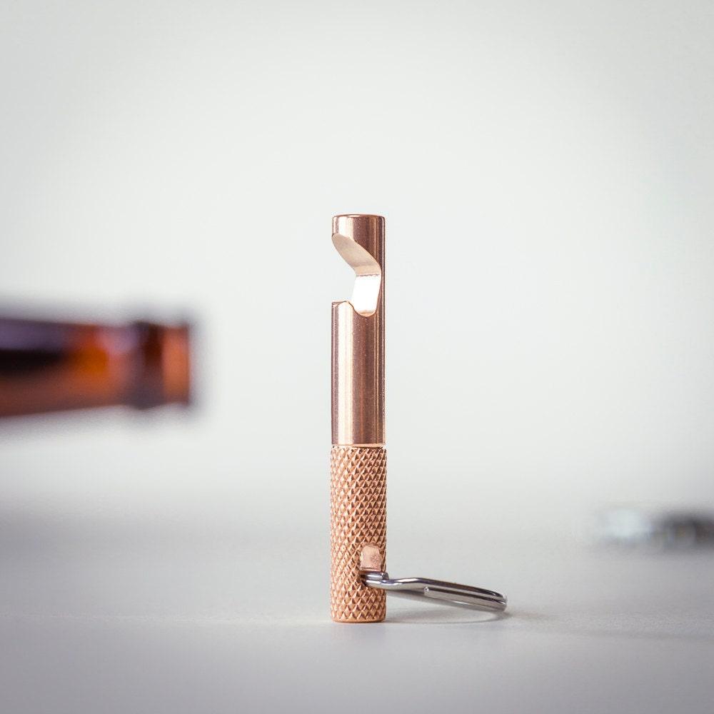 bottle opener keychain edc tool bronze. Black Bedroom Furniture Sets. Home Design Ideas