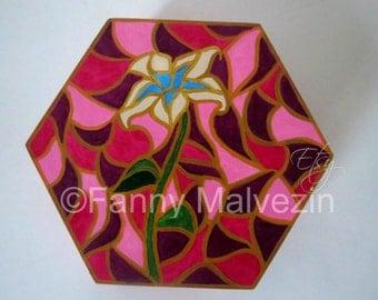 Rapunzel box - Golden flower inspiration