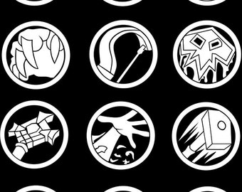World of Warcraft inspired Class Icon - Decal