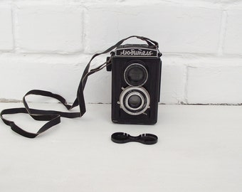 Soviet Vintage Lomography Camera Lubitel, made in USSR, LOMO