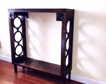 Tall Narrow Table With Accents