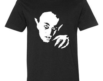 Nosferatu, T-shirt, silent movie, dracula, neck, bite, coffin, willem dafoe,The grand hotel budapest, horror, count orlok