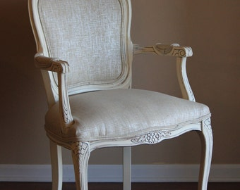 French Antique Accent Chair