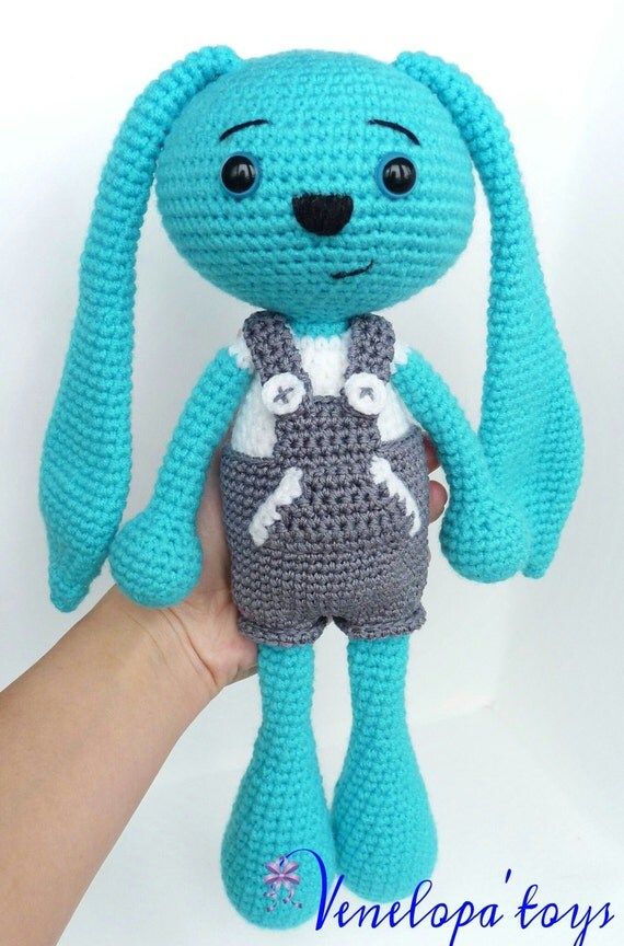Amigurumi Crochet Toys : Crochet Amigurumi Crochet toy Cute toy Amigurumi rabbit