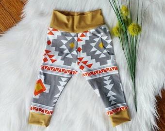 Modern Handmade Leggings, Baby Shower Gift, Gender Neutral, Boy Girl Infant High Quality