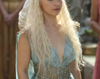 Cosplay Costume Daenerys Targaryen game of trones GOT Mother of dragons qarth version