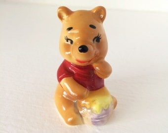 Vintage Walt Disney Productions Winnie the Pooh Figurine Made in Japan