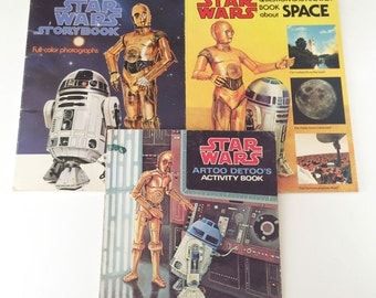Star Wars Story Book Star Wars Artoo Detoo's Activity Book Star Wars Questions and Answers About Space Books