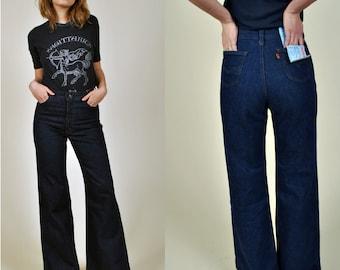 Smokestack Lightning Vintage unworn Levis High Waisted Bellbottom jeans