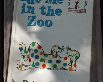 Dr seuss artwork etsy for Dr seuss put me in the zoo coloring pages
