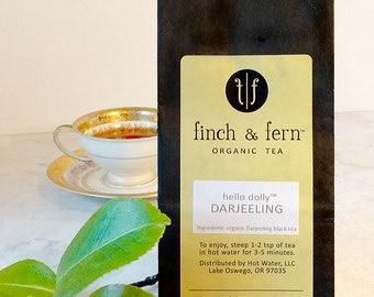 Organic Tea: DARJEELING | Black, Loose Leaf | Large (4 oz)