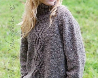 KNITTING PATTERN - Greta Sweater