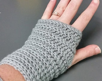 Ribbed Wristers // Textured Fingerless Gloves // Ribbed Fingerless Gloves // Arm Warmers // Gifts for Her // Gifts for Coworker
