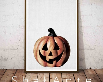 Halloween Printable Decorations, Halloween Decoration, Happy Halloween, Halloween Signs, Halloween Print Gift, Boo Printable, Nursery decor