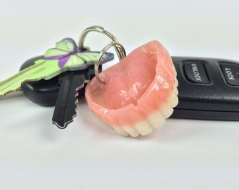 Mini 'Adult' Denture Keychain