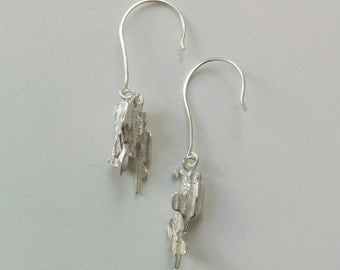 Sterling Silver Earrings | Sterling Silver Drop Earrings | Sterling Silver Jewelry | Kartchner Earrings