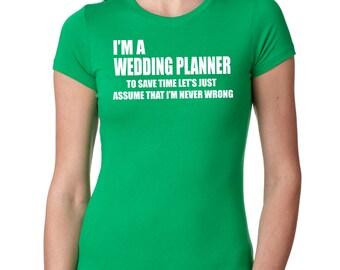 Wedding Planner T-Shirt Gift For Wedding Planner Tee Shirt