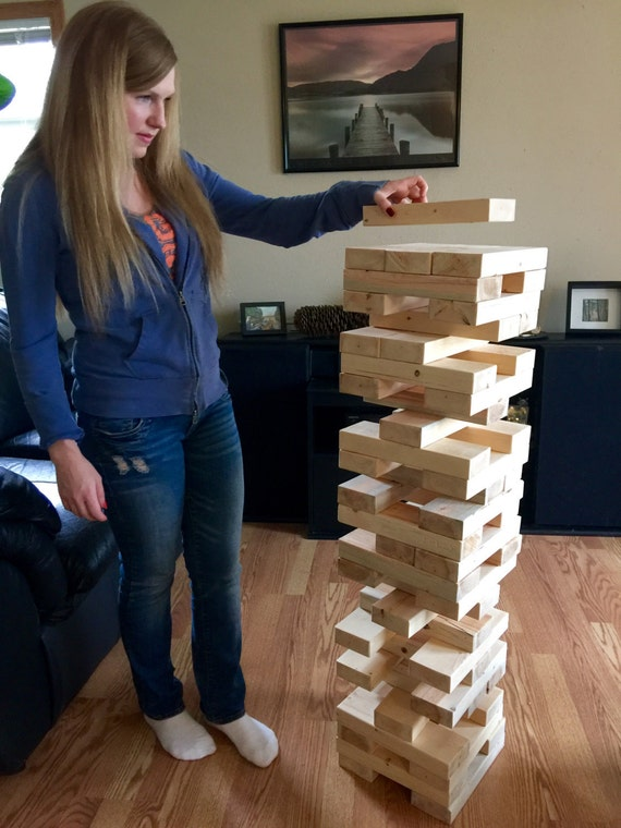giant jenga 2x4 set
