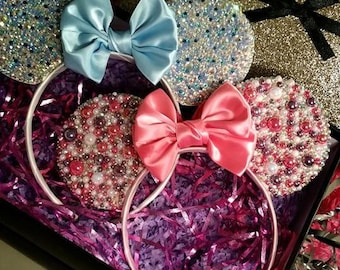 Minnie Mouse Rhinestone Headband Ears