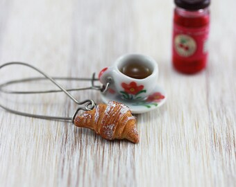 Coffee and Pastry Earrings