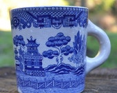 Japanese Blue Willow Mug