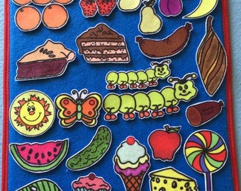 Hungry Caterpillar Felt Board Set- Flannel Board Set