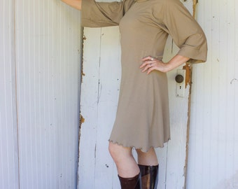 Mareesha Dress - Organic Clothing - Made to Order - Many Colors Available