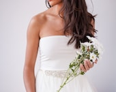 Sleeveless bridal top, tube top for wedding dress, bridal separates, wedding separates tube top for bridal gown, bridal top wedding lingerie