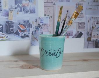 Handwritten Create Ceramic Cup