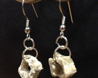 Bird vertebrae (Birdebrae) earrings