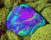 Trippy Beta Fish Pendant