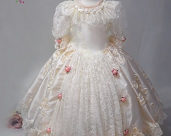 Precious Pearl - Flower Girl Dress, Princess Dress