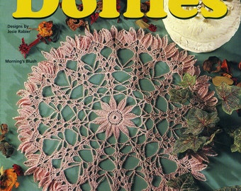 SHADES Of PASTEL DOILIES Thread Crochet House of White Birches 101137