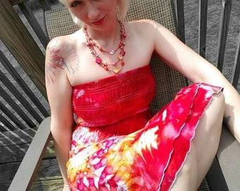 Tie Dye Dress Tie Dye Skirt Various Sizes