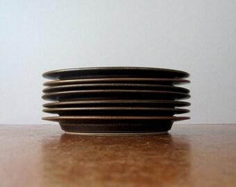 Single Vintage Arabia Finland Ruska Dinner Plate